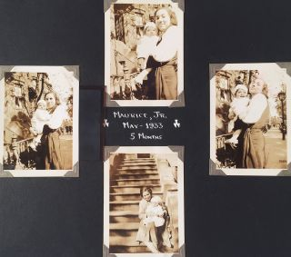 [Early Twentieth Century Photo Albums of African-American Woman Social Worker.] Photographs [cover-title].