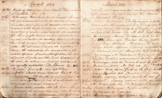 [Journal of a Harvard student and teacher at Phillips Academy, Andover.] Diary from Jan. 1, 1803, to Sep. 2, 1804 [cover-title].