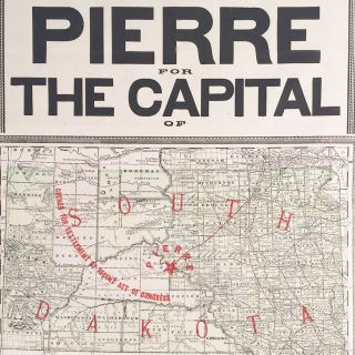 Pierre for the Capital of South Dakota.
