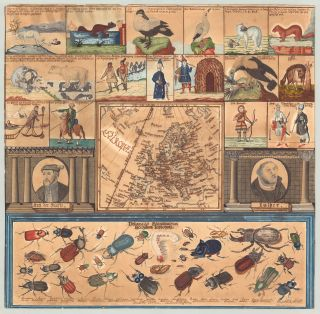 Didactic manuscript map of Europe.]. Odo Staab