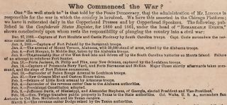 How the War Commenced, and How Near It Is Ended.