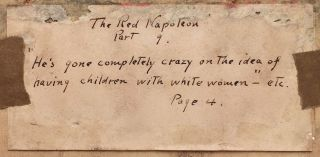 [Originial Illustrations for The Red Napoleon.]