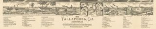 1892 Tallapoosa, Ga. Haralson Co. Looking Northwest.