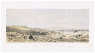 Port Elizabeth in 1862. Dedicated by permission to the Mayor and Town Council. homas, Bowler...