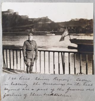Scrapbook of WWI Intelligence Officer and Author.] World War Scrap Book [cover-title]. Alison...