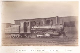 [Locomotive photo archive.] Photographs; Porte Feuille [cover-titles].