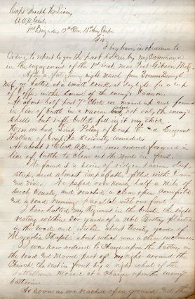 Manuscript compilation of official reports for the Battle of Port Gibson.]. George Francis...