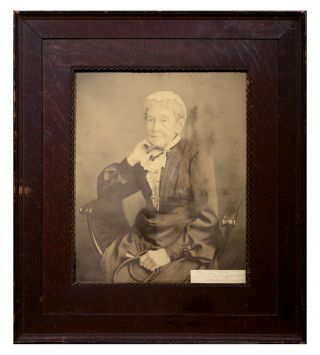 [Photo Portrait of Maria Louisa Owen.]