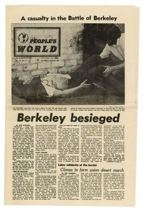 [Archive of materials relating to the 1968–1969 Berkeley People's Park Demonstrations.]