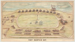 Fort Custer M.T. attributed Fiedler, eopold