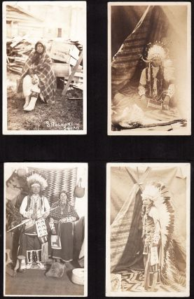 [Album of Photographs Documenting a Portion of the American Indian Citizenship Expedition of 1913.]