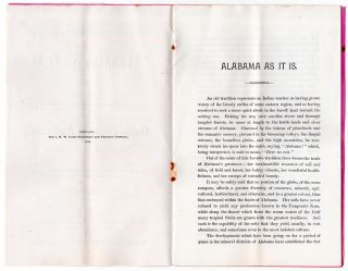 "Extracts from ""Alabama As It Is, or, the Immigrants' and Capitalists' Guide Book to Alabama."""
