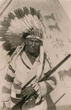 Forty-Four Original Photographs of Blackfeet Indians by Late-19th and Early-20th Century Western...