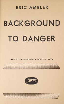 Background to Danger.