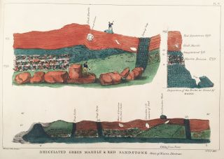 Atlas of Plates, Illustrating the Geology of the State of Maine, Accompanying the First Report on the Geology of That State.