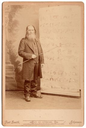 [Cabinet card photograph of Lewis F. Hadley.]
