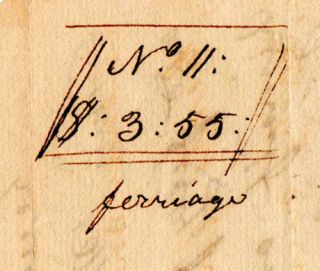 [A Pair of Autograph Documents].