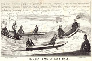 The Great Race Up Salt River.