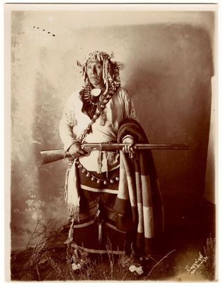 Set of Fifteen Original Photographs of the Sioux and Asinniboine People by a Montana...