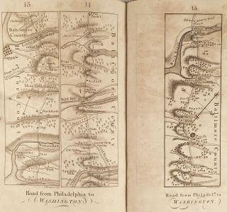 The Traveller's Directory, or a Pocket Companion: shewing the course of the main road from Philadelphia to New York, and from Philadelphia to Washington. With descriptions of the places through which it passes, and the intersections of the cross roads. Illustrated with an account of such remarkable objects as are generally interesting to travellers. From actual survey.