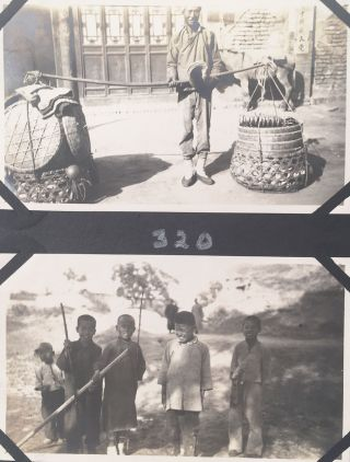 [Photo archive of a U.S. missionary's experiences and travels in China, Korea and Europe.]