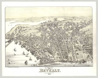 View of Beverly. Massachusetts. 1886