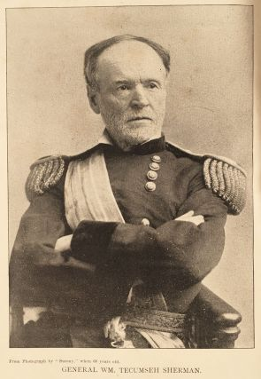 [Salesman's dummy for:] Life of W. M. Tecumseh Sherman, Late Retired General, U.S.A. A graphic history of his career in war and peace; his romantic youth; his stern and patriotic manhood; his calm and beautiful old age; a marvellous march from the mountains of time to the sea of eternity. By W. Fletcher Johnson, Aided by Maj. Gen. O. Howard, U.S.A.