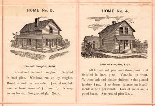 The Grant Park, Florida, Land Company : Handsome Cottages On your Own Lots, at a Low Price, on the Installment Plan.