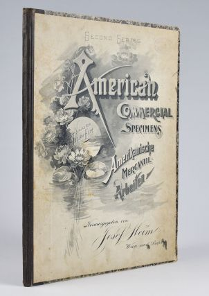 Second Series American Commercial Specimens Amerikanische Mercantil-Arbeiten [cover title].