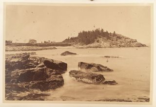 """Mount Desert on the Coast of Maine. """"Infinite Riches in a Little Room."""""""