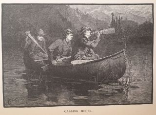 Woods and Lakes of Maine. A trip from Moosehead Lake to New Brunswick in a Birch-Bark Canoe. To which are added some Indian place names and their meanings now first published by Lucius L. Hubbard. New and Original Illustrations by Will. L. Taylor.