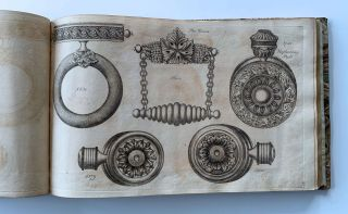 [Engraved trade catalogue of cast and stamped brass furniture fittings, household hardware and picture frames].