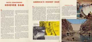 Panoramic Perspective of the Area Adjacent to Las Vegas—Hoover Dam, Lake Mead National Recreation Area; Las Vegas—Hoover Dam, Lake Mead National Recreation Area.