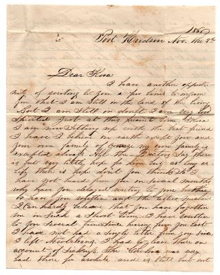 [Reconstruction-era letters of an ex-rebel in Port Hudson and New Orleans.]