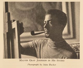 Negro Artists: An Illustrated Review of their Achievements Including Exhibition of Paintings by the late Malvin Gray Johnson and Sculptures by Richmond Barthé and Sargent Johnson Presented by the Harmon Foundation in Cooperation with the Delphic Studios April 22 - May 4, 1935, Inclusive.