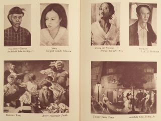Exhibition of the Work of Negro Artists.