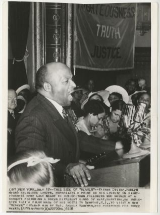 Photo lot of African-American spiritual leader Father Divine.]. Inc Acme Newspictures