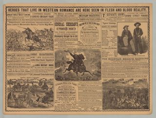 The Frontiersman. A Story of Life on the Plains. Season of 1890.