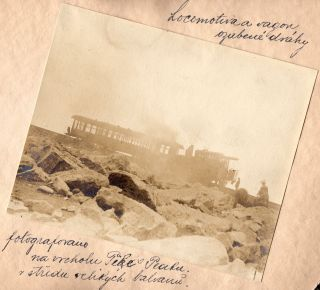 Photographic shots from a journey from Chicago to California and back, undertaken in July and August 1905, prepared and dedicated as a memento to his son Jiri by Adolf Hrusa [translation from the Czech].