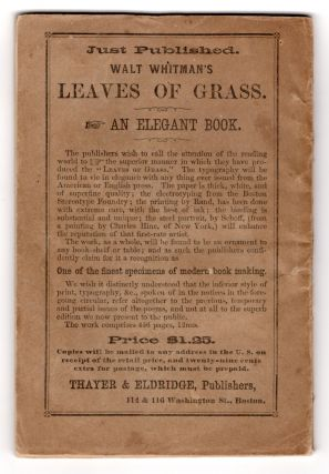 Leaves of Grass Imprints.