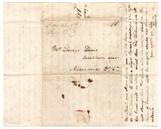 [Autograph letter to his son Lorenzo on agricultural and other matters.]