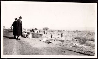[Photo album of a Massachusetts family wintering in southern California.]