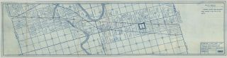 [Maps and photos documenting an oil pipeline built through Otoe and Ponca Reservation land.]