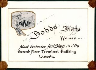 [Booster album for Lincoln, Nebraska]. [Cover title:] Business Directory and Views. Property of Hotel Lincoln.