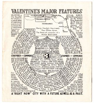 Valentine, Nebraska: The Heart of a New and Unusual Region, A Place of Pleasant Surprises A Land Where Fortune Awaits You.